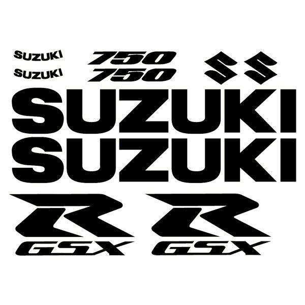 Aufkleber: GSXR 750 2004