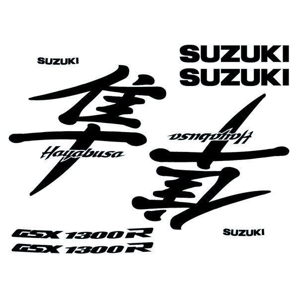 Aufkleber: Hayabusa 1999-00 logo set
