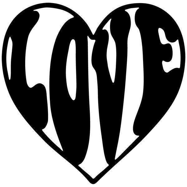 Wandtattoos: Liebe 19