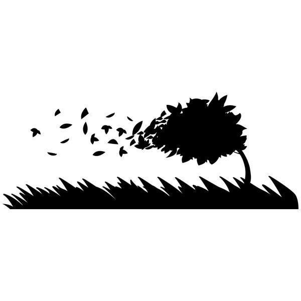 Wandtattoos: Wind