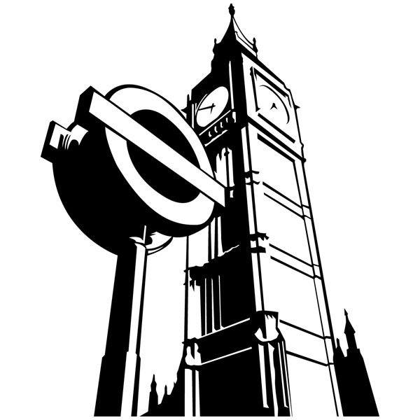 Wandtattoos: Big Ben
