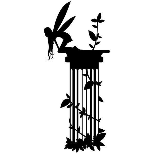 Wandtattoos: Fairy Column