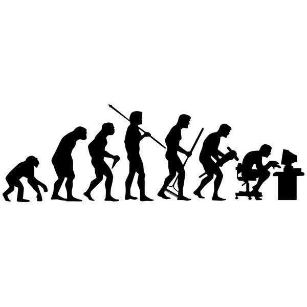 Wandtattoos: Evolution PC