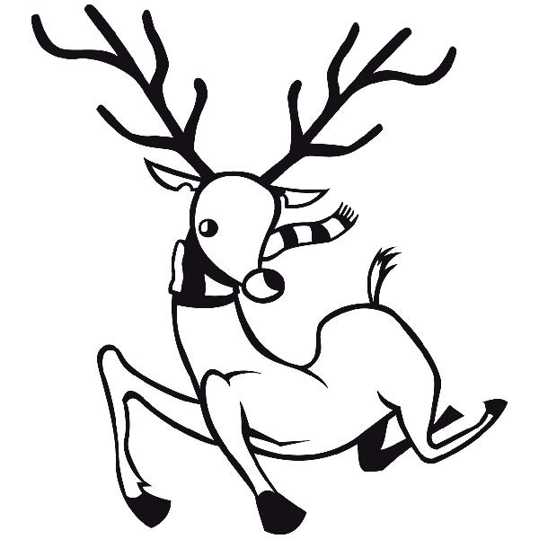 Wandtattoos: Rudolph