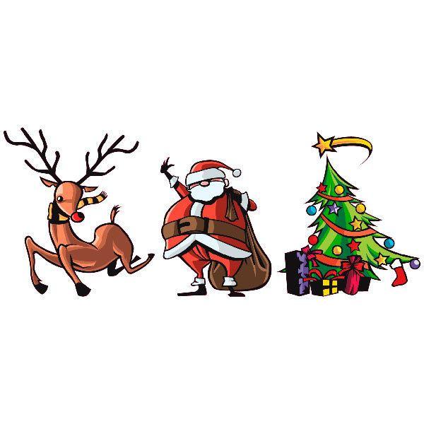 Wandtattoos: Kit color christmas