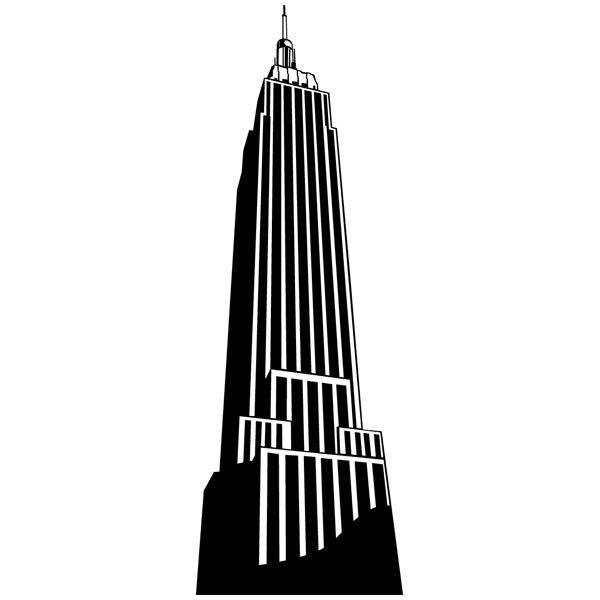Wandtattoos: Skyscraper