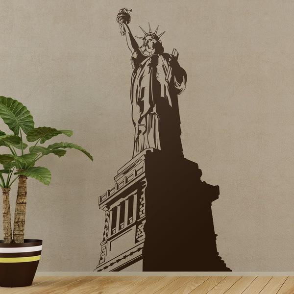 Wandtattoos: die Freiheitsstatue