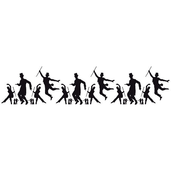 Wandtattoos: Astaire