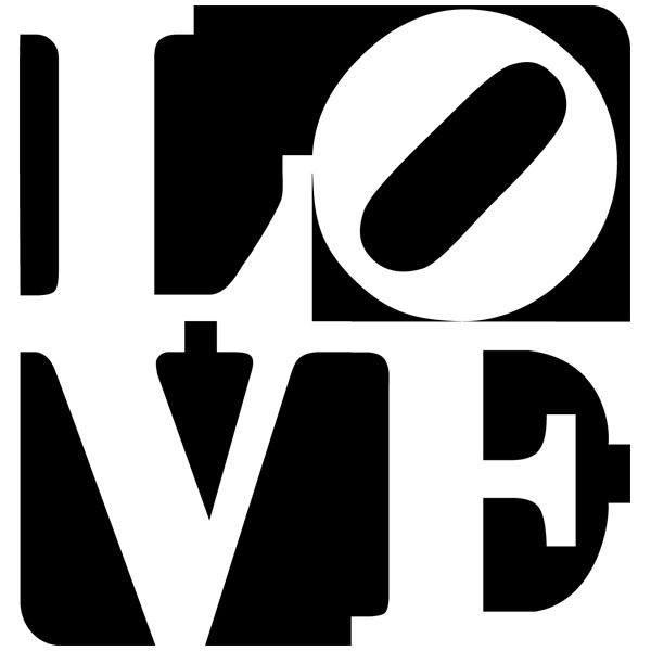 Wandtattoos: love design