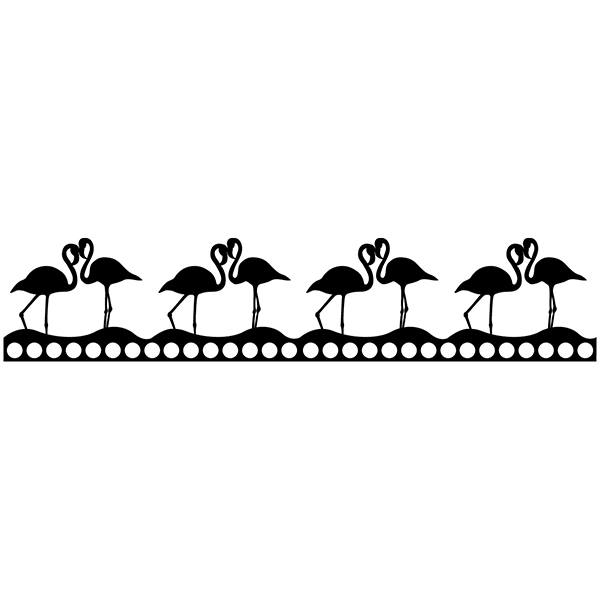 Wandtattoos: Flamingo