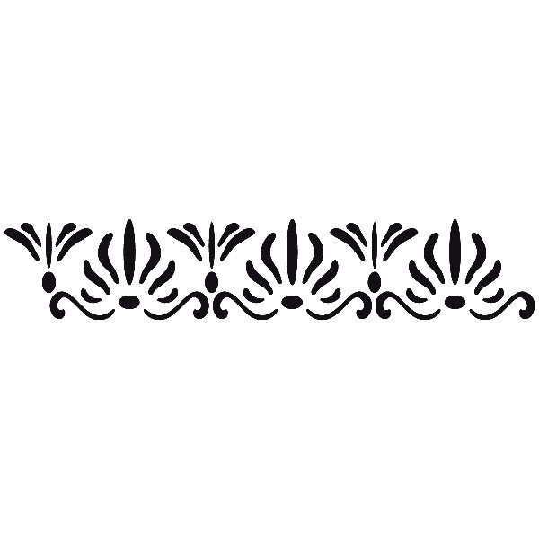 Wandtattoos: Classic pattern