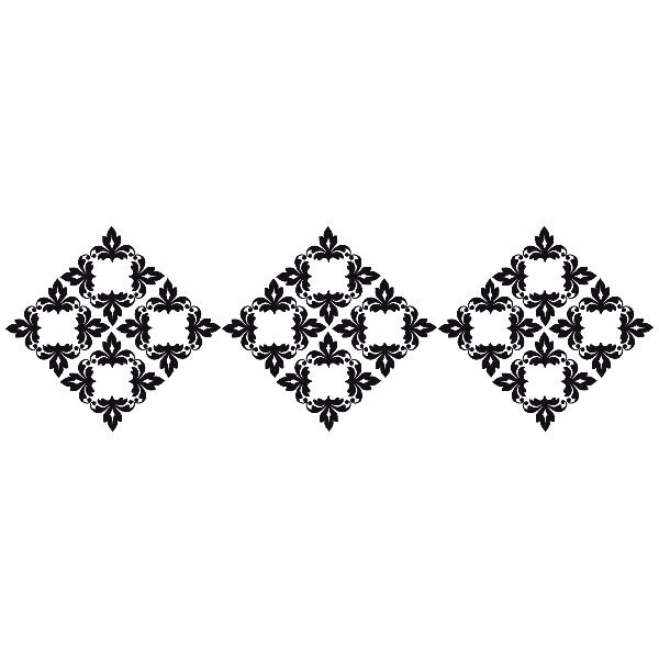 Wandtattoos: Cenefa Geometrya