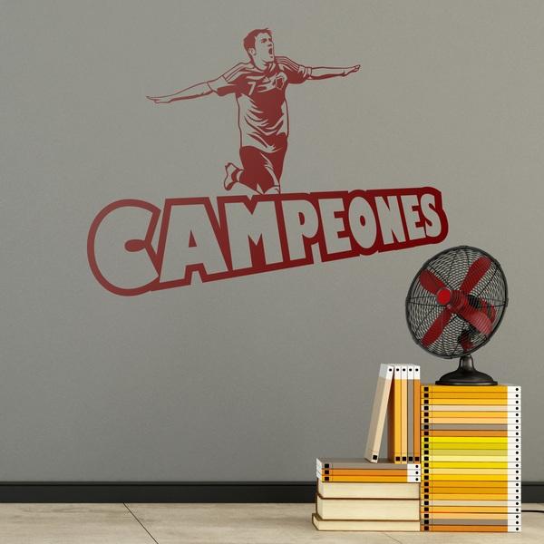 Wandtattoos: Campeones