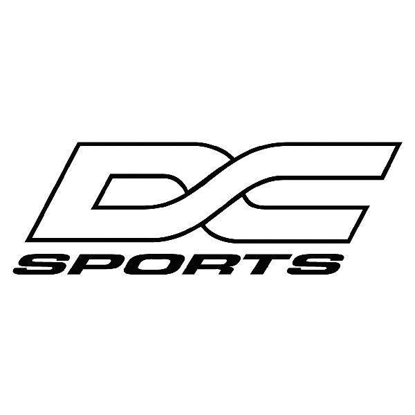 Aufkleber: DC sports
