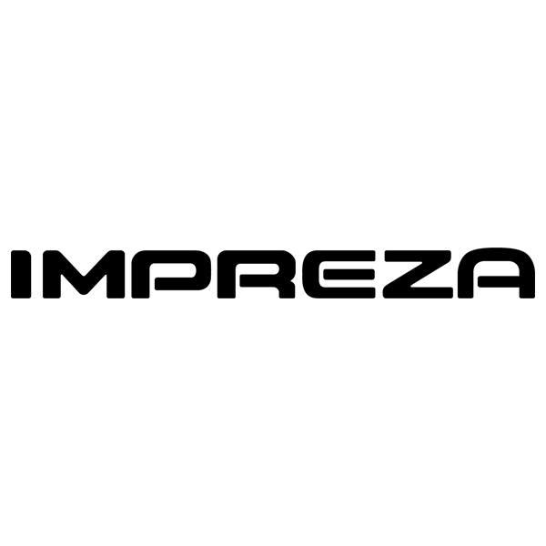 Aufkleber: Subaru Impreza