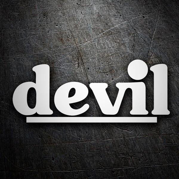 Aufkleber: Devil
