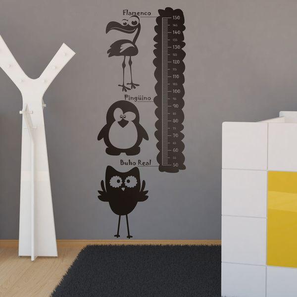 Kinderzimmer Wandtattoo: Animals Meter