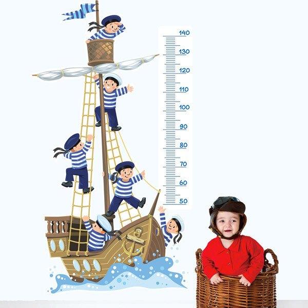 Kinderzimmer Wandtattoo: Boot und Auszubildende