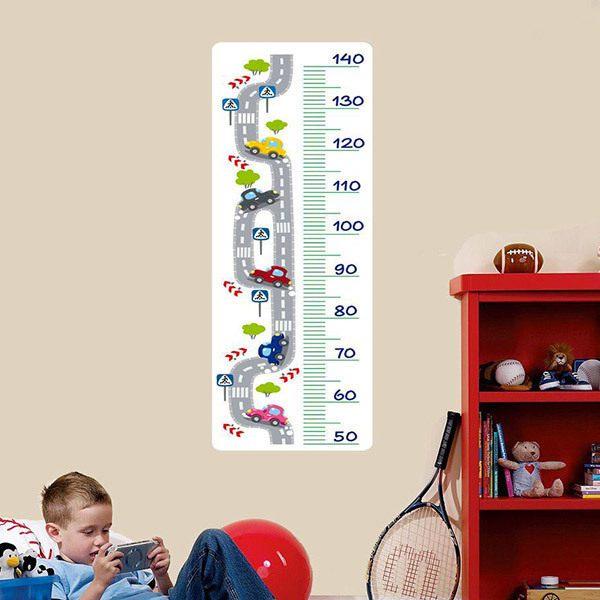 Kinderzimmer Wandtattoo: Meter Straße und Auto
