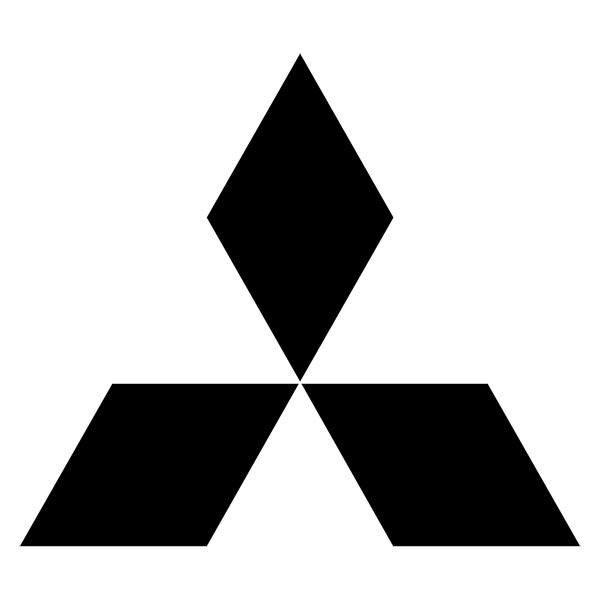 Aufkleber: Mitsubishi logo 2