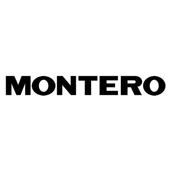Aufkleber: Montero 2
