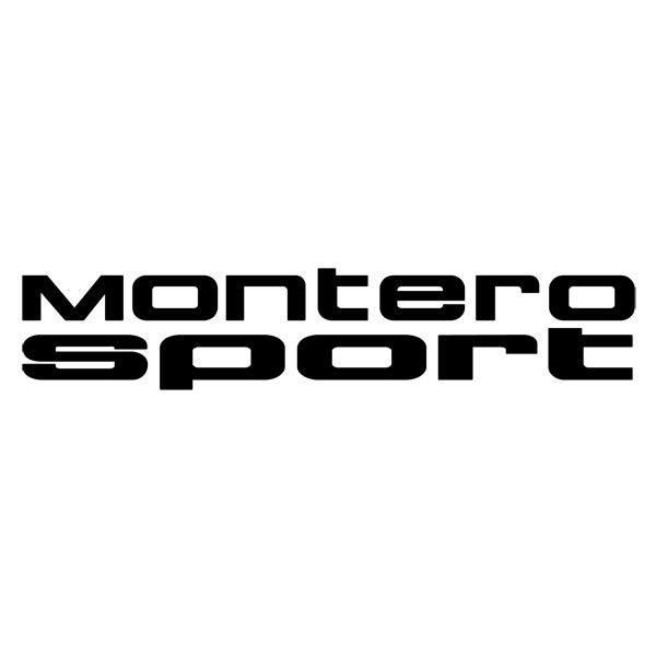 Aufkleber: Montero Sport