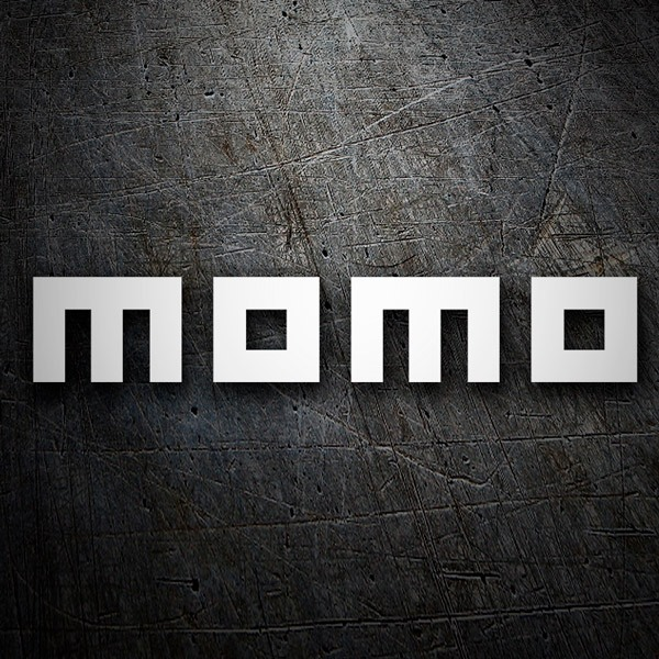 Aufkleber: Momo