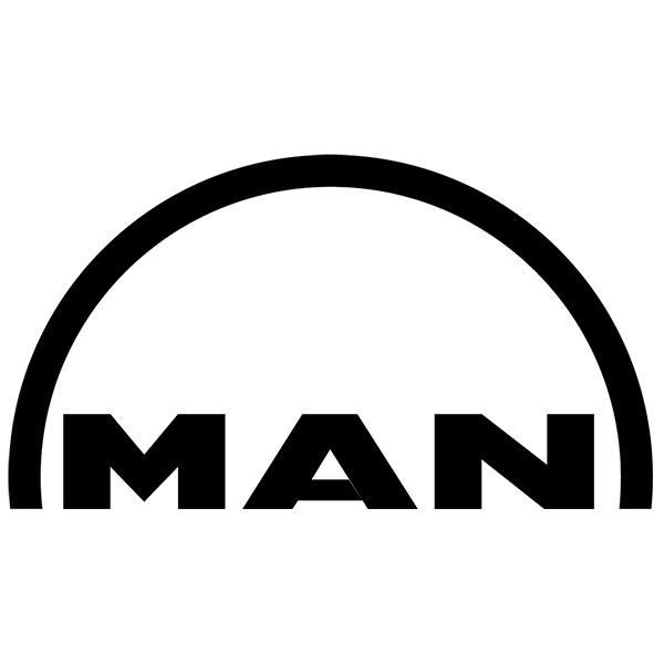 Aufkleber: Man