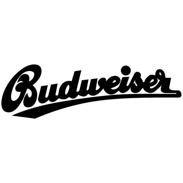 Aufkleber: Budweiser