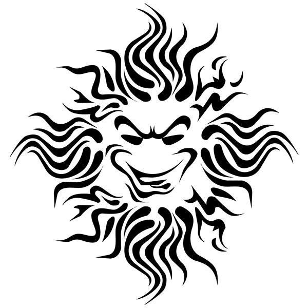 Aufkleber: Sol