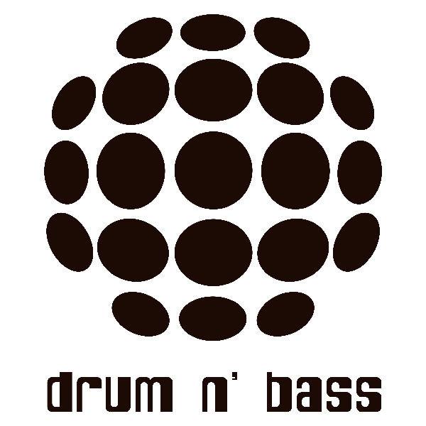 Aufkleber: Drum n Bass
