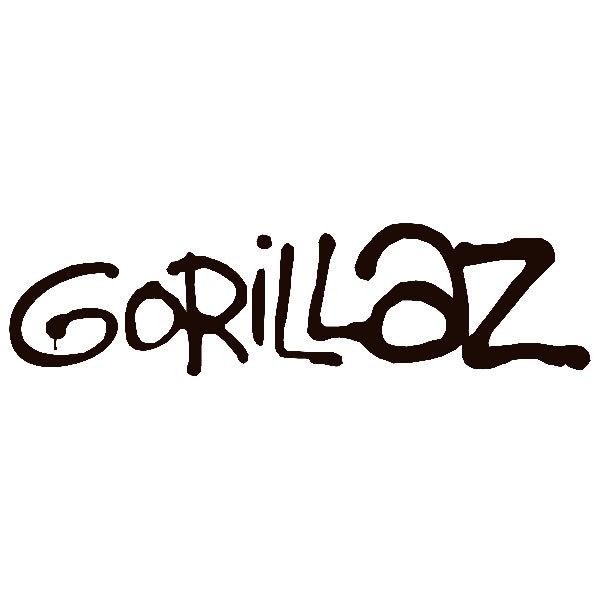 Aufkleber: Gorillaz