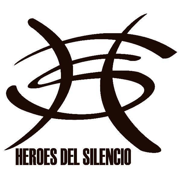 Aufkleber: Heros del silencio