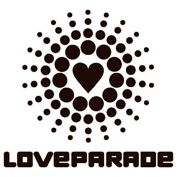 Aufkleber: Love Parade