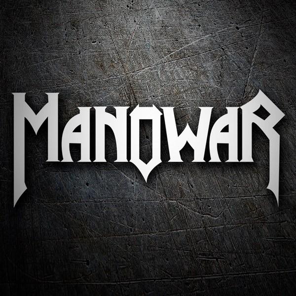 Aufkleber: Manowar