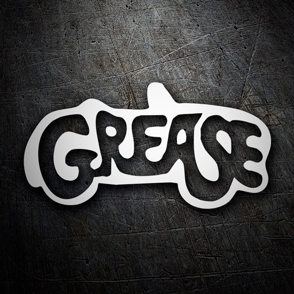 Aufkleber: Grease