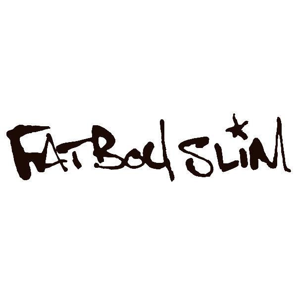 Aufkleber: Fatboy Slim