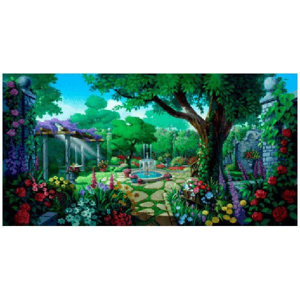 Wandtattoos: Der Garten der tausend Blumen