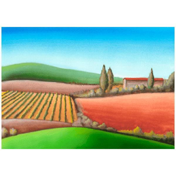 Wandtattoos: Agrarlandschaft