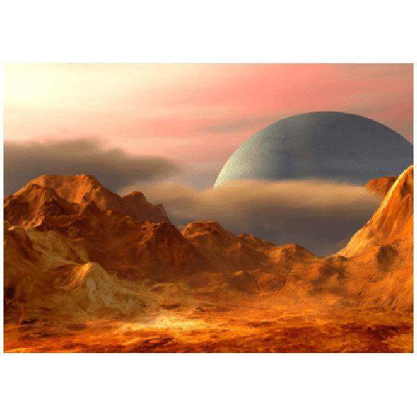 Wandtattoos: Landschaft von einem anderen Planeten