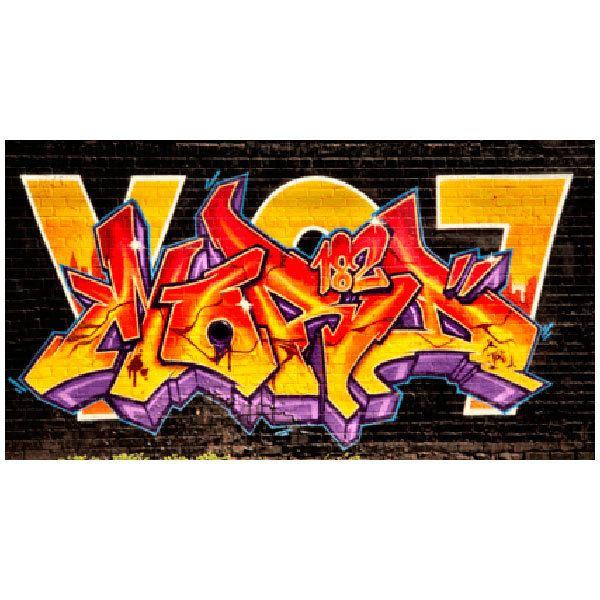Wandtattoos: Grafitti