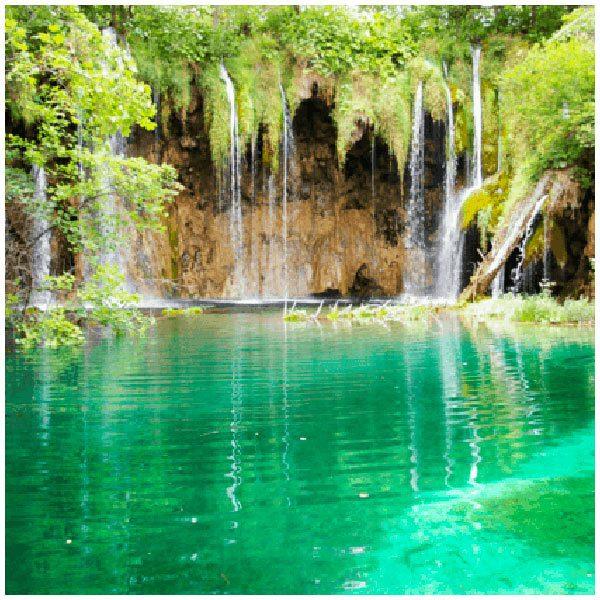 Wandtattoos: See und Wasserfälle