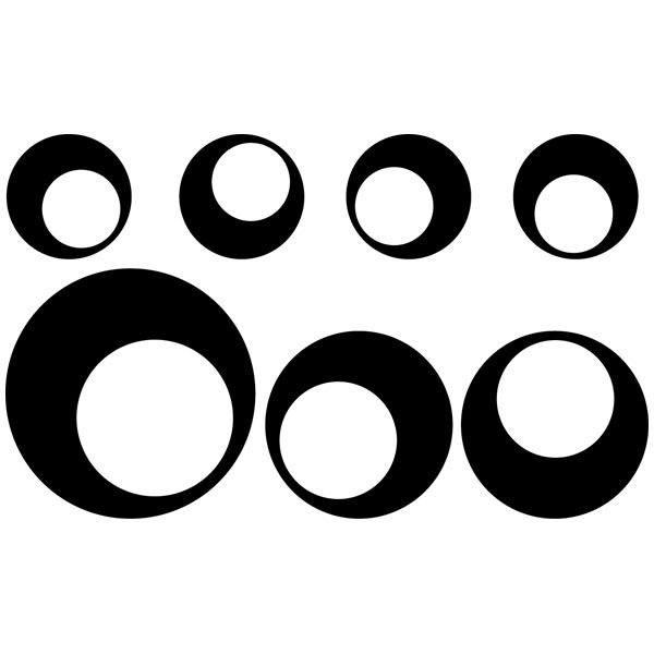 Wandtattoos: Kit 7 Kreise