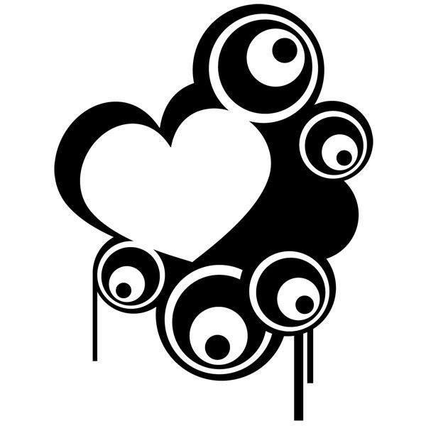 Wandtattoos: Heart