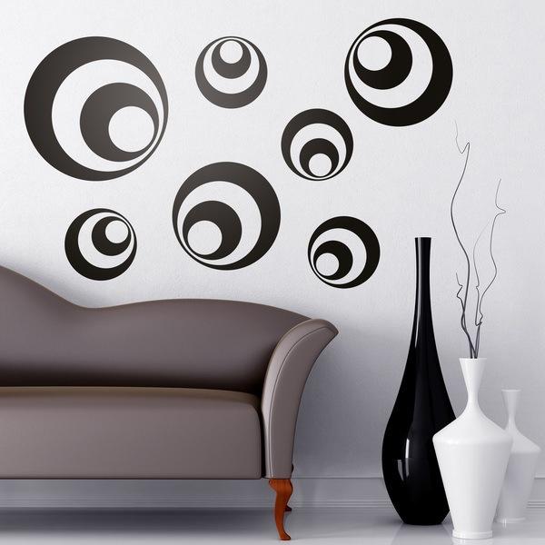 Wandtattoos: Kit 7 circles B