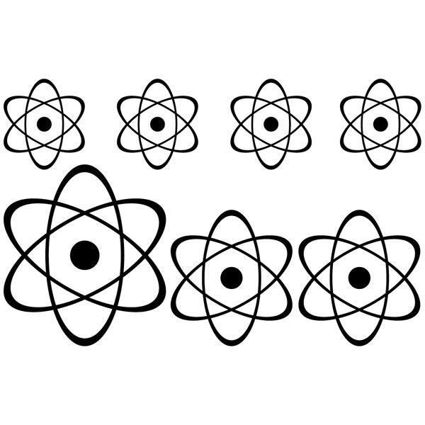 Wandtattoos: Kit 7 átomos