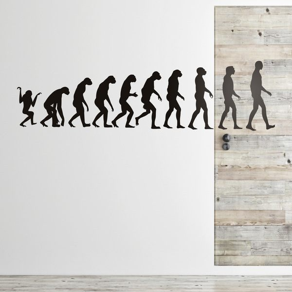 Wandtattoos: Evolution 0