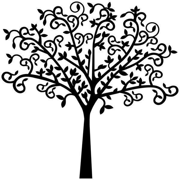 Wandtattoos: Baum 1