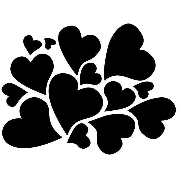 Wandtattoos: Herzen