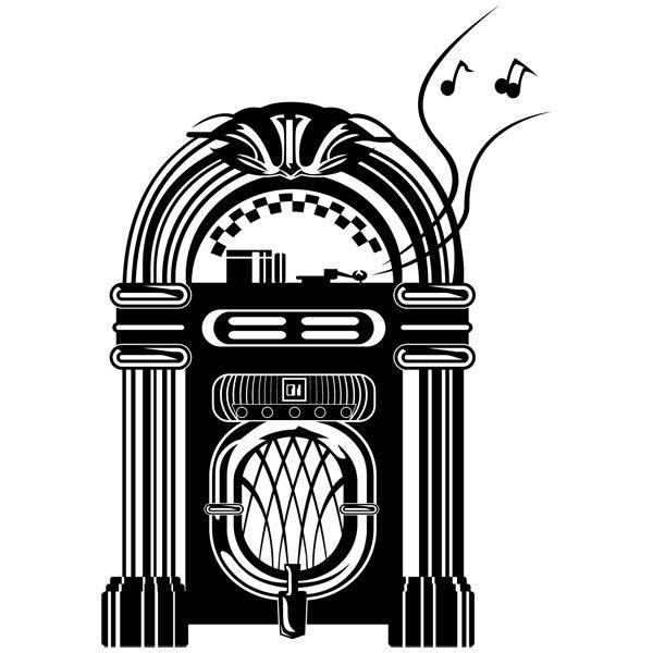 Wandtattoos: Jukebox